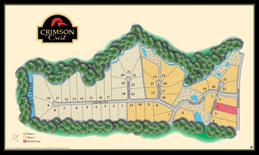 Homes in Chesterfield VA at Crimson Crest