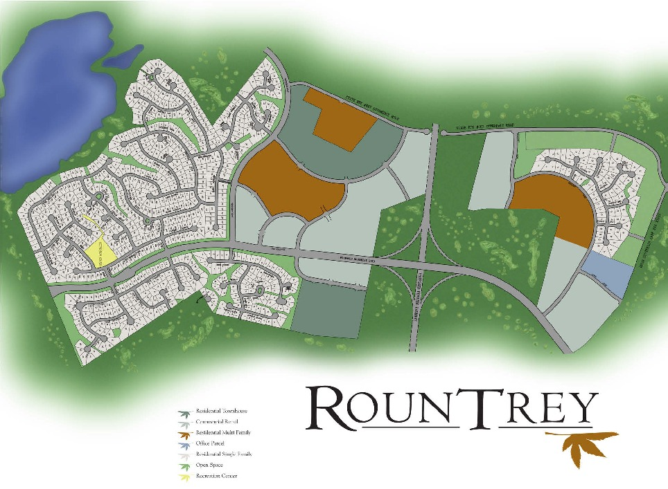 Homes in Midlothian VA at Rountrey